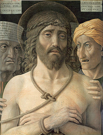 Ecce homo - Andrea Mantegna, 1500