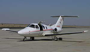 Elipse 500 flight test aircraft, Mojave Airport