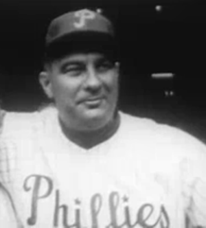 Eddie Sawyer - Sawyer prior to the start of the 1950 World Series