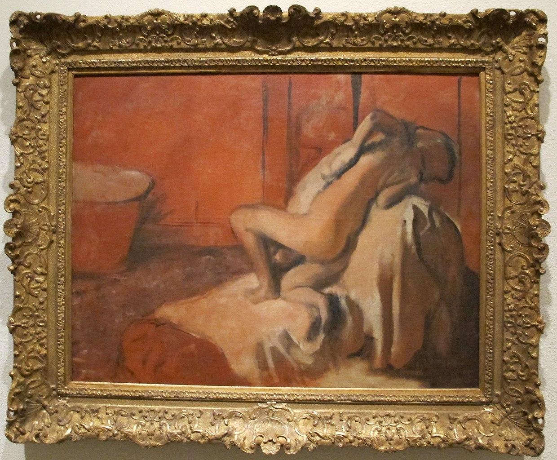 File edgar degas dopo il bagno donna che si asciuga 1896 ca jpg wikimedia commons - Bambolotti che fanno il bagno ...