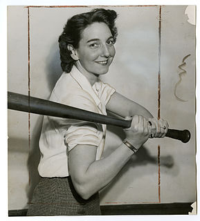 Edith Houghton Professional baseball player and scout