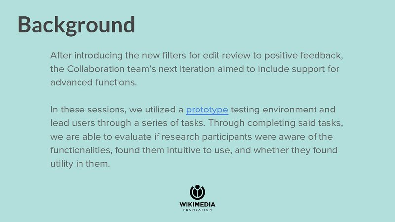 File:Editing - RC Extended Filters Usability Testing Deck 2017.06.pdf
