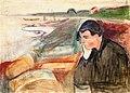 Edvard Munch - Evening. Melancholy (1891).jpg