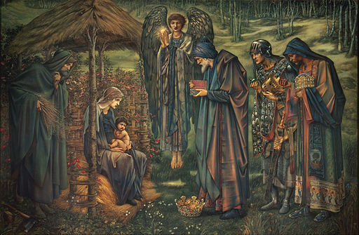 Edward Burne-Jones - The Star of Bethlehem - Google Art Project
