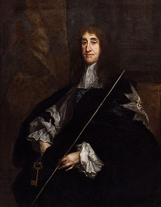 Edward Montagu, 2nd Earl of Manchester - Portrait of the Earl of Manchester by Sir Peter Lely, circa 1661-1665