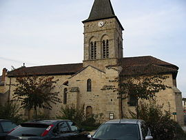 The church in Saint-Laurent-sur-Gorre