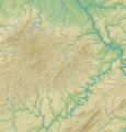Eifel (Relief und Gewässer) - Deutsche Mittelgebirge, Serie A-de.png