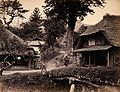 Eiyama, Japan; thatched cottages Wellcome V0037667.jpg