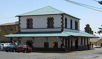 El Oro de Hidalgo - Old train station