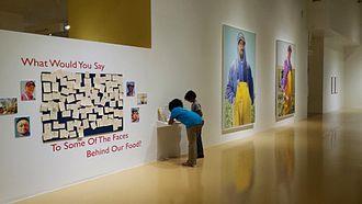 El Paso Museum of Art - El Paso Museum of Art Migrant Worker Exhibit