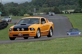 Hallett Motor Racing Circuit - 2009 Mustang at Hallett 2014 Shelby Meet