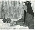 Elena Mannini - La giottesca, Olio su tela ca. 1957.jpg