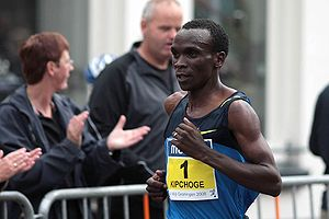 Great Yorkshire Run - Kenyan Eliud Kipchoge set a course record to win in 2009.