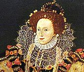 Contemporary portrait of Elizabeth I