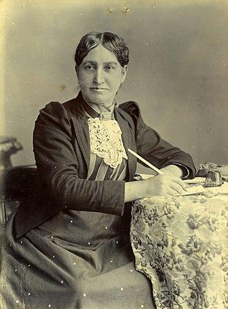 Elizabeth Yates (mayor) - Elizabeth Yates in 1894