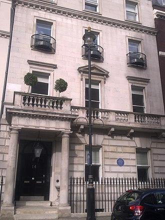 Embassy of Haiti, London - Image: Embassy of Haiti in London 1