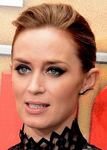 Emily Blunt - the hot, beautiful,  actress  with English roots in 2020
