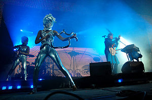 Empire of the Sun (band) - Empire of the Sun performing at Parklife Festival in September 2009