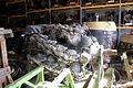 Engine Room Storage Pratt and Whitney R-4360 radial piston engine FOF 14Dec09 (14610550603).jpg