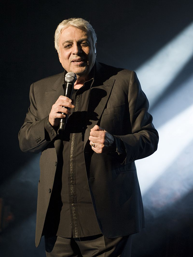 Enrico Macias en 2016  Photo : Wikimedia.