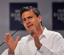 Enrique Peña Nieto; from file, 2010. Image: World Economic Forum.