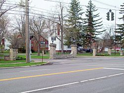 Entranceway at Main Street at High Park Boulevard Apr 10.JPG
