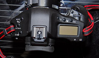Canon EOS-1D Mark III - Image: Eos 1D Mark III Top View