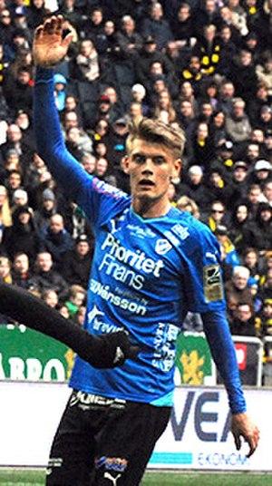 Eric Smith (Swedish footballer) - Image: Eric Smith