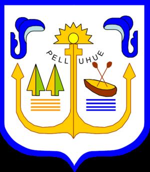 Pelluhue - Image: Escudo Pelluhue