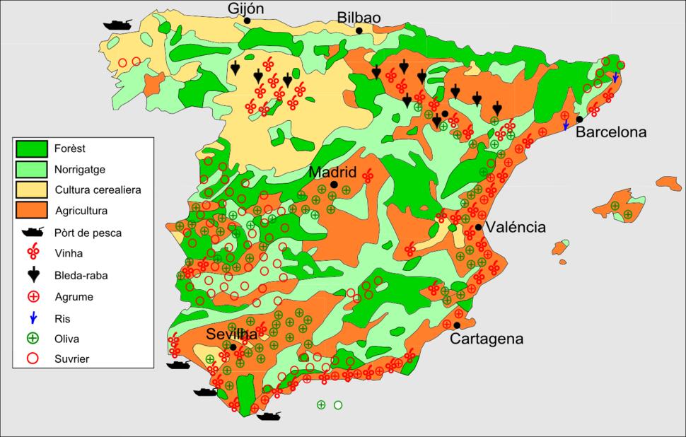 Espanha - Agricultura