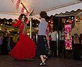 Espectaculo flamento en el Restaurante Grill Fataga por la Feria de Abril 07.jpg