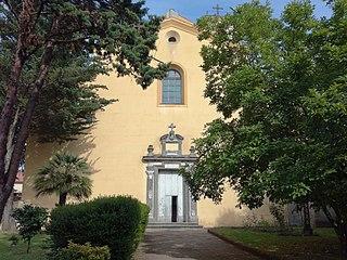 Hermitage of Camaldoli monastery in Italy