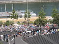 Etape 21 du Tour de France 2009, quai François-Mauriac 01.jpg