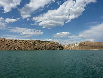Euphrates - Euphrates near Kahta.