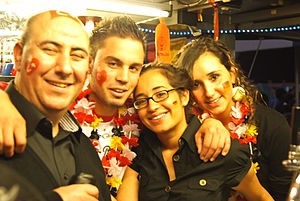 Turks in Germany - A group of German Turks.