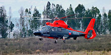 Eurocopter AS365 Dauphin de la Aviación Naval de Chile.JPG