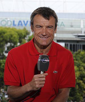 Mats Wilander - Image: Eurosport Studio Australian Open 2014 007