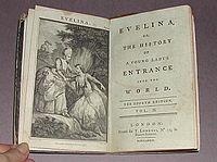 Evelina cover