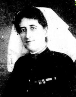 NZ-born Australian matron-in-chief