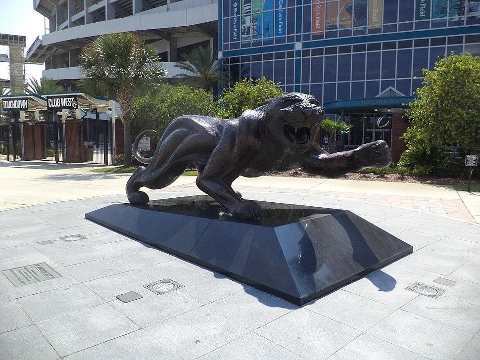 Everbank Field, Touchdown jaguar from corner