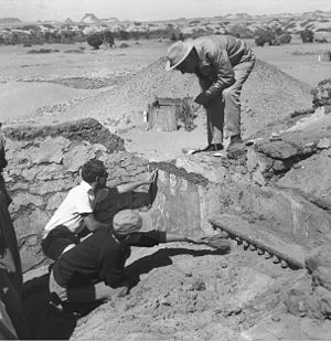 Excavation (archaeology) - Excavations at Faras, Sudan, 1960s