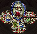 Exeter Cathedral, Stained glass window detail (36232928984).jpg
