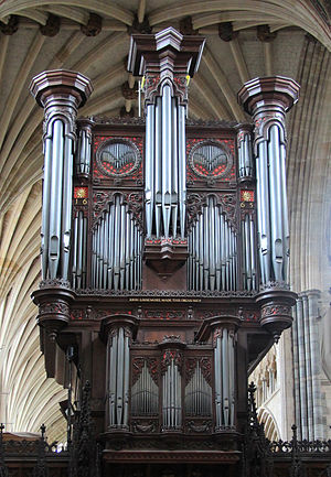John Loosemore - Organ by Loosemore in Exeter Cathedral
