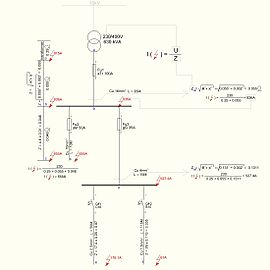 Explanation about short-circuit (with example) for designing electrical installations.JPG