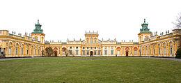 Palais Wilanów bei Warschau, erbaut im Auftrag von König Sobieski (Quelle: Wikimedia)