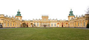 Exterior of the Wilanów Palace, Poland1.jpg