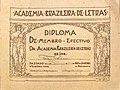 Félix Pacheco Piauí 1918 (diploma da ABL).jpg