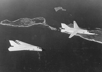 General Dynamics–Grumman F-111B - F-111Bs, BuNo 151970 and 151971, over Long Island during testing