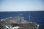 F-35C Lightning II conducts 1st carrier launch 141104-N-MD297-076.jpg