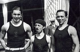 F. De Coninck, Georges Anthony and L. Flament 1928.jpg